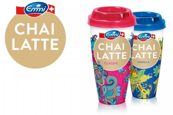 Scondoo: 0,40€ Cashback auf 230ml Becher Emmi CHAI LATTE Classic oder Vanilla