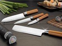 TokioKitchenWare PEARL Edition 4-teiliges Küchen-Messerset, Edelstahl [4,90 €] schnell sein