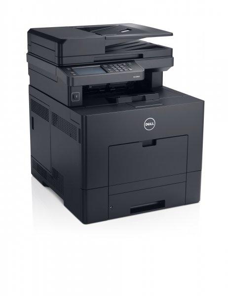Dell C3765dnf Farblaser-Multifunktionsdrucker mit großem 4,3-Zoll-Farb-LCD-Touchscreen (A4, 4-in-1, Drucker, Kopierer, Scanner, Fax, Netzwerk, Duplex, ADF)