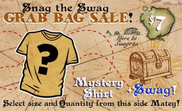 Pop & Nerdige Geekige Mash up T-Shirts im Grab Bag Sale $6 über 50 Designs