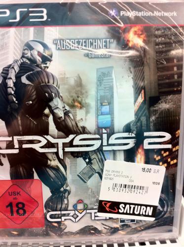 Crysis 2, NFS Shift II und Dragon Age II für Playstation 3 -  Lokal im Saturn Rheincenter Köln Weiden -> 15 Euro !!! <-
