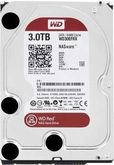 Western Digital 3000GB 3TB RED WD30EFRX für 97,96€ @meinpacket