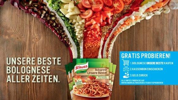 1x Knorr Fix Bolognese Unsere Beste! - Gratis probieren