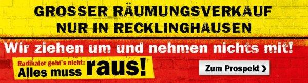 [LOKAL] MM Recklinghausen Räumungsverkauf