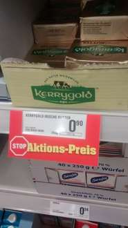 Kerrygold butter lokal netto quickborn 0,90€ 250gr.