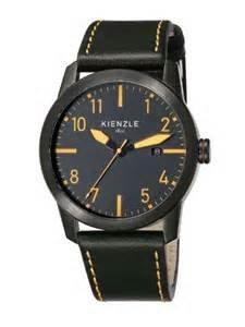 [Amazon Marketplace] Kienzle Herren Edelstahl-Armbanduhr mit Lederarmband in 4 versch.Farben für je 49€