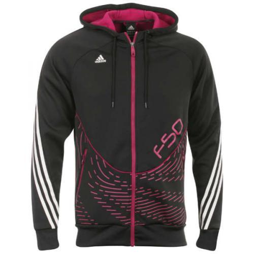 adidas F50 Men's Hooded Jacket - Black @Sportdiscount.com Alle gängigen Größen verfügbar! UPDATE: Nur S und XXL zu dem Preis, andere abweichend!