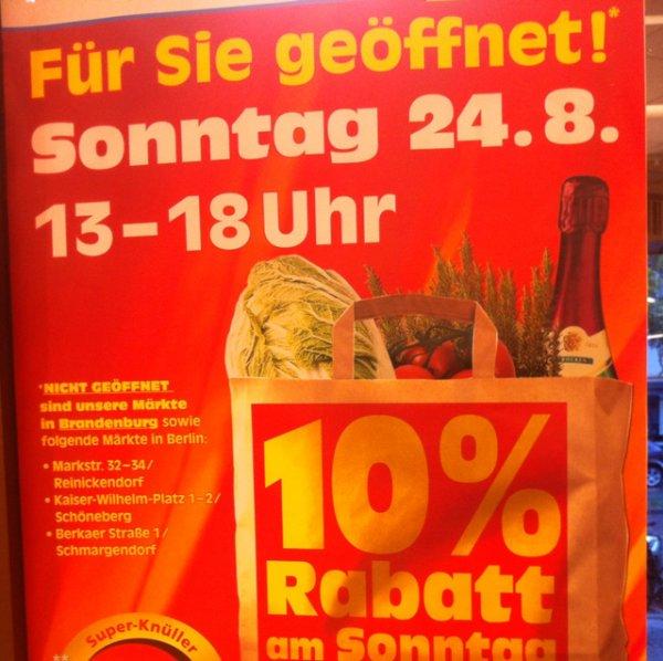 Berlin: 10% auf alles bei EDEKA reichelt