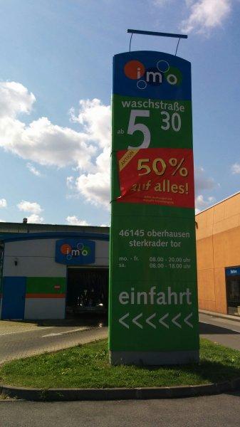 [lokal Oberhausen] IMO Autowäsche zum halben Preis