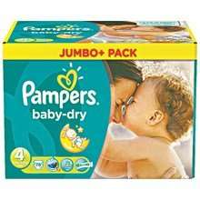 [REAL] KW35: 2x Pampers Jumbo+ Pack für 10,61€/Pack oder 0,118€/Stück