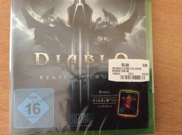 (lokal) Diablo 3 Ultimate Evil Edition für XboxOne und PS4 @Saturn Erfurt