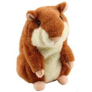 Sprechender Plüsch-Hamster, für nur 4,83 Euro incl. Versand @ebay