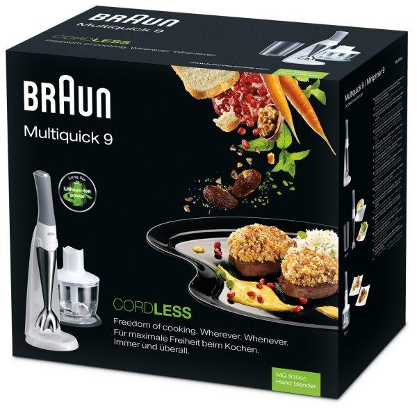 Braun Multiquick 9 Schnurlos MQ 930cc für 66€ @Saturn