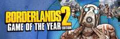 [Steam] Borderlands 2 GOTY Bioshock Tripple Pack usw