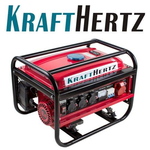 KRAFTHERTZ 3000 Watt Power Strom-Generator Notstromaggregat Stromerzeuger WOW - 50€ unter idealo