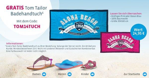 Mirapodo - gratis Tom Tailor Badetuch