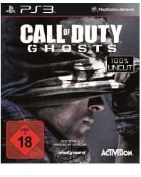 Call of Duty: Ghosts, PS3/XBox360 Saturn On-/Offline 17,-€ (evtl. +Vsk)