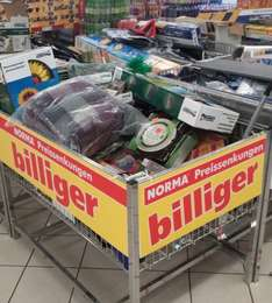 [LOKAL] NORMA Augsburg - Alles muss raus ;-) Teilweise über 80% !