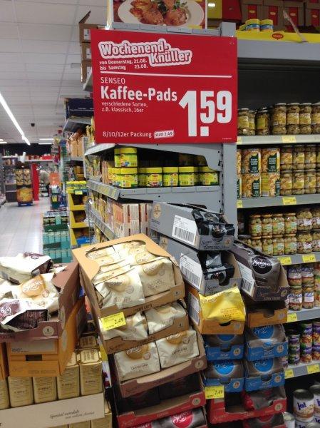 [lokal] REWE Iserlohn Senseo Kaffeepads