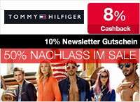 8% Tommy Hilfiger Cashback + 10% Newsletter Rabatt