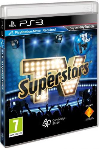 TV Superstars (Playstation Move) PS3  für ca. 5,50€ inkl.Versand
