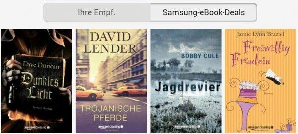 [Samsung+Amazon] jeden Monat ein gratis eBook