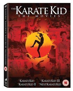 KARATE KID Box Set Collection 1 + 2 + 3 + 4 DVD