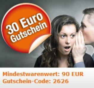 Migros 30 Euro Gutschein MBW 90 Euro bis 24.08.
