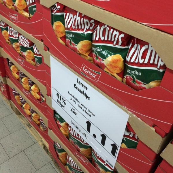 Crunchips im Kaufland Adlershof für 1,11 Euro