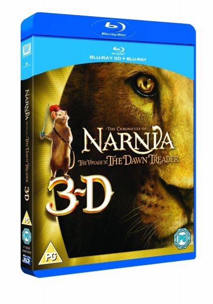 Blu-ray 3D - Die Chroniken von Narnia: Die Reise auf der Morgenröte [15% Rabatt auf alles] für €6,44 [@Wowhd.se]