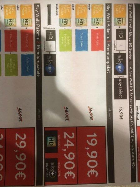 x12 sky Welt+ buli + Deutschland 4 Sterne Trikot im Karstadt Sport Köln