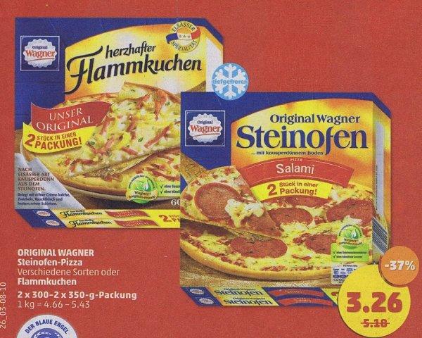 [Penny] Wagner Steinofen Pizza oder Flammkuchen Elsässer Art 320/300g im Doppelpack für 3,26€  und Wodka Gorbatschow für 5,99 €