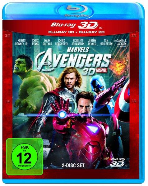 [Blu-ray] Marvel's The Avengers 3D für 14,99€ bei Amazon.de (Prime)