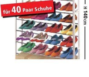 Endlich Ordnung dank Schuhregal von Thomas Philipps für 9,98 €