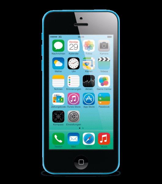 iPhone 5C 8GB Blau 373.95€ - UPDATE: Bei Base mittlerweile für 349€ zu haben (Link in Beschreibung).