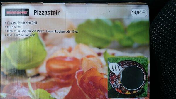 [offline] (Hammer!) - 33,5cm Pizzastein inkl. Alublech - Kaufland