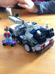[lokal] [Bickenbach] Lego Back to the Future DeLorean für 30€