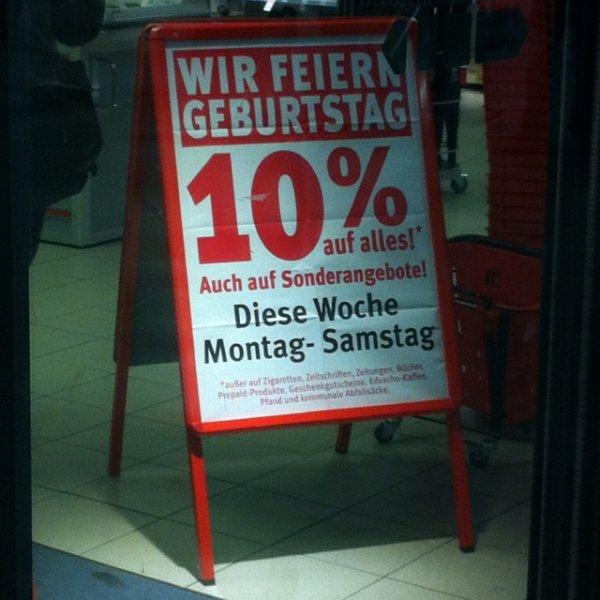 [Lokal Dresden] 10% auf alles bei Rossmann im Hbf