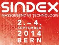 Kostenlose Eintrittskarte für die Technologiemesse SINDEX (02. - 04. September in Bern)