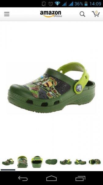 Amazon 50% - Kinder Crocs Turtles Größe 21-31 für 12,79€ bzw 13,07 mit Prime (ohne +3€)