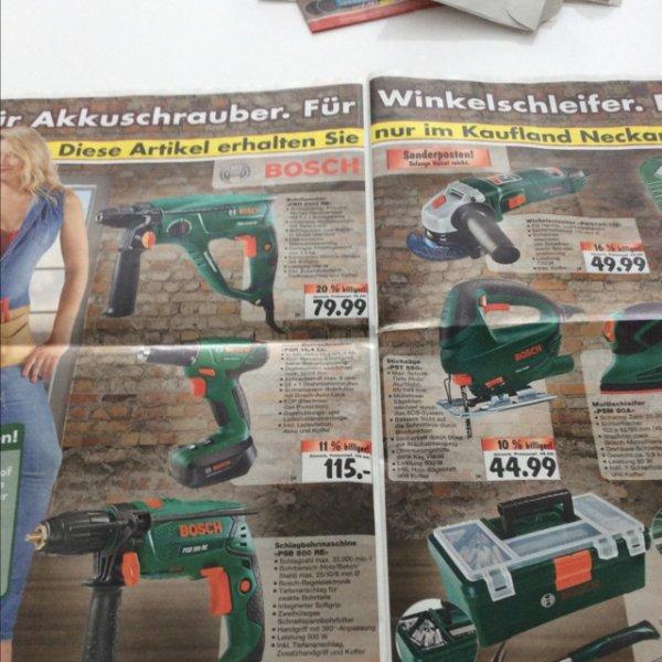 div. Bosch Maschinen @ Kaufland