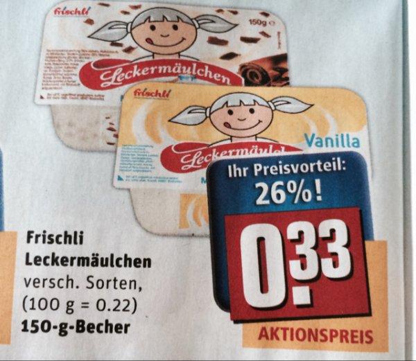 Leckermäulchen (Rewe) von Frischli ab 25.08