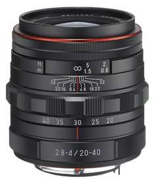 [amazon.fr] Objektiv Pentax HD DA 20-40mm f2.8-4 Ltd WR