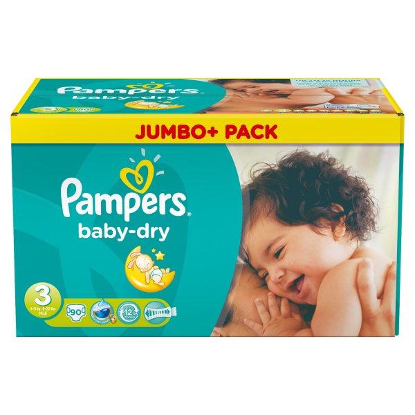 [REAL] 2x Pampers Jumbo+ Pack für 21,48€ oder 0,111€/Stück