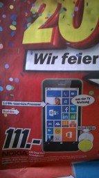 Nokia Lumia 630 Dual Sim (Lokal Mediamarkt Heilbronn)