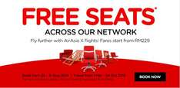 Flüge: Air Asia Free Seats zzgl. Steuern - Flüge in Südostasien bereits ab 3,- € (März - Oktober 2015)