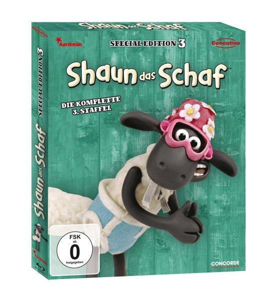 Shaun das Schaf - Box 3 - Blu-ray @Amazon Prime 13,97 EUR