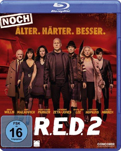 [Amazon.de Prime] R.E.D. 2 - Noch Älter. Härter. Besser, Blu-Ray, Idealo.de ab 13,75€