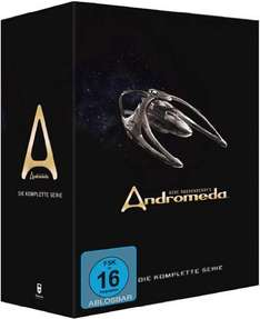 Gene Roddenberry's Andromeda - Komplettbox [30 DVDs][Amazon]