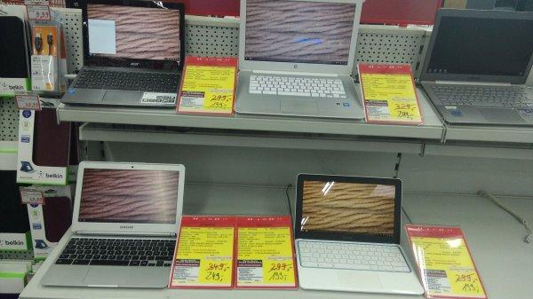 Chromebooks Ausverkauf ! @Mediamarkt Bischofsheim (Lokal?)